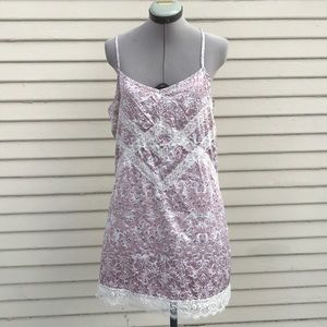 Anthropologie E by Eloise lace slip dress NWT sz M